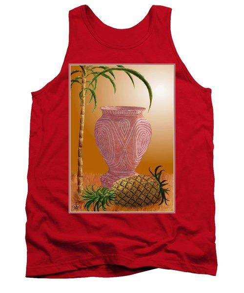 Hawaiian Pineapple Tank Top