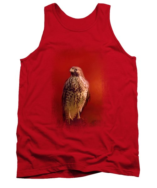 Hawk On A Hot Day Tank Top