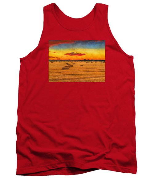 Hay Fields Tank Top by Greg Norrell