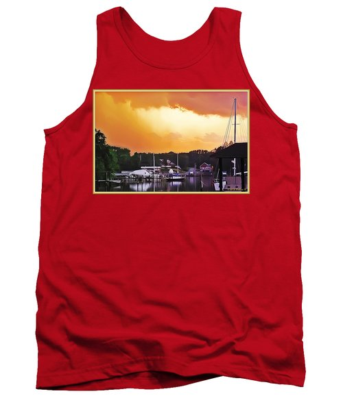 Tank Top featuring the photograph Head For Safety by Brian Wallace