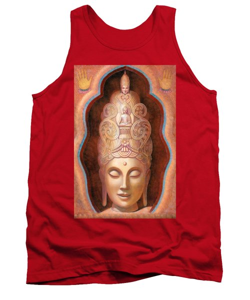 Healing Tara Tank Top by Sue Halstenberg