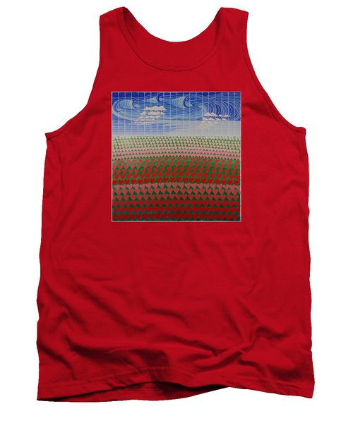 Heart Fields Tank Top