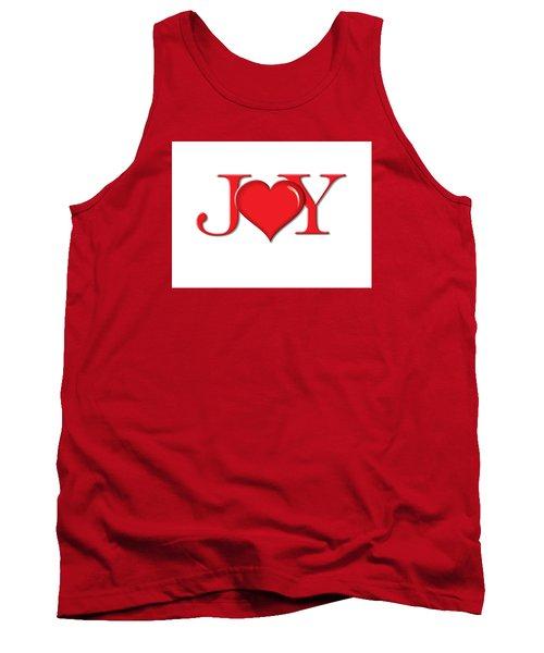 Heart Joy Tank Top by Greg Slocum