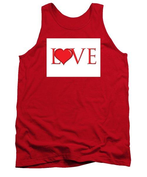Heart Love Tank Top by Greg Slocum
