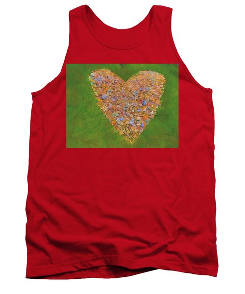 Heart Made Of Stones Tank Top