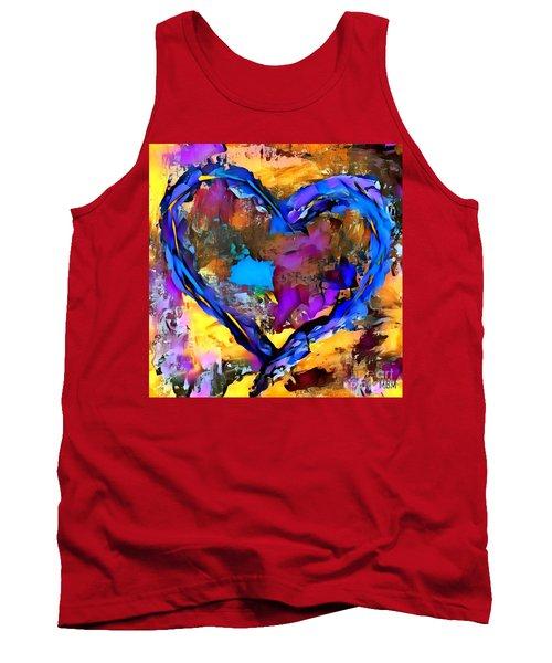 Heart No 7 Tank Top
