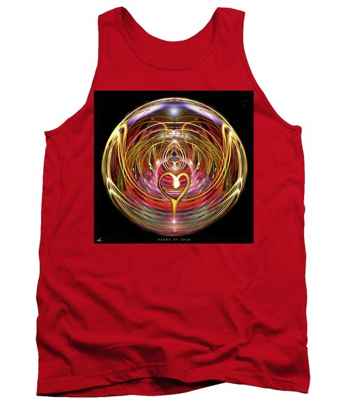 Heart Of Gold Tank Top