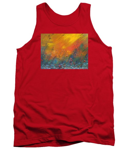 Tank Top featuring the painting Heartland  by Dan Whittemore