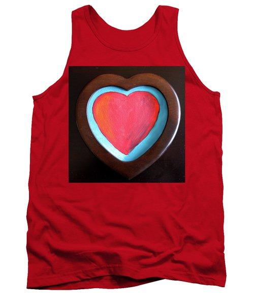 Hearts Afire Tank Top
