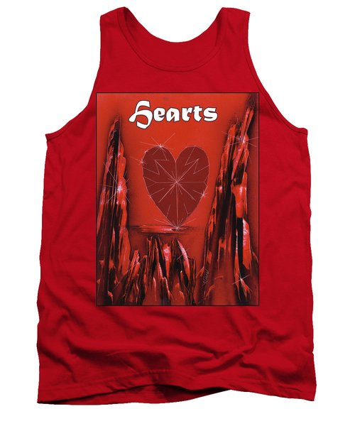 Hearts Suit Tank Top
