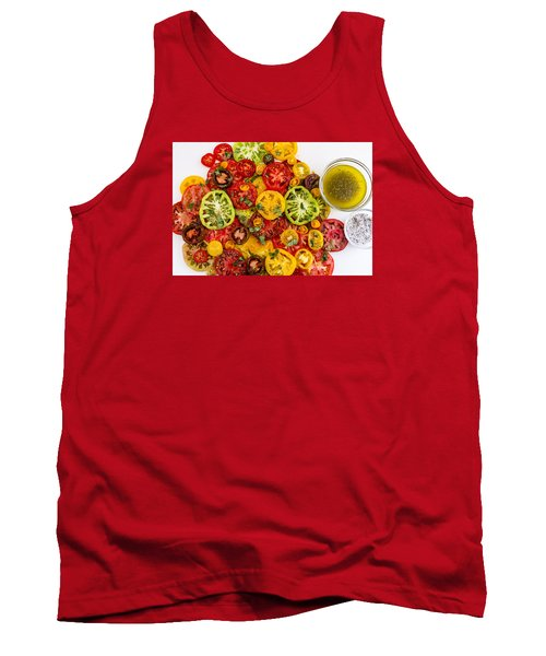 Heirloom Tomato Slices Tank Top