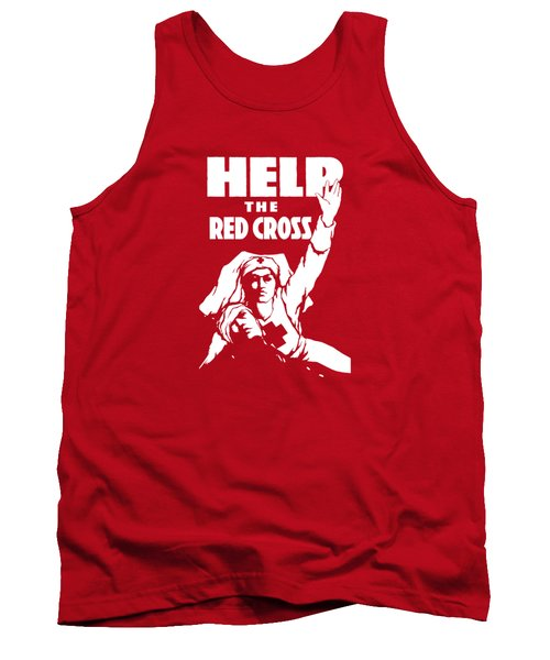 Help The Red Cross Tank Top