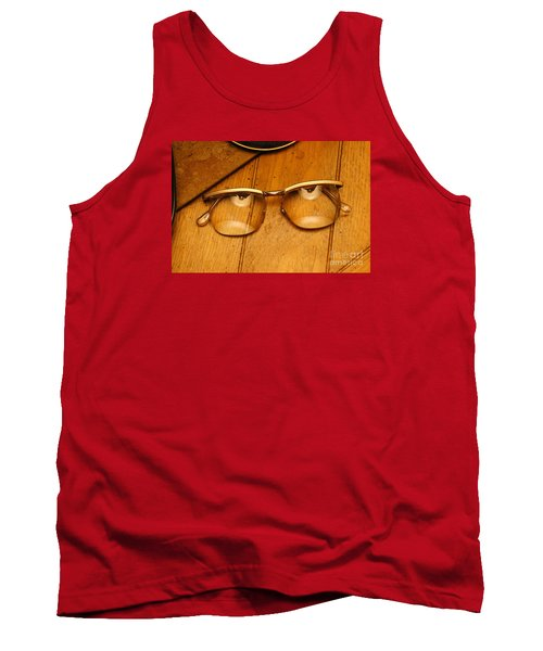 Here's Looking At You Tank Top by Paul  Wilford