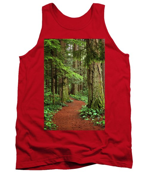 Heritage Forest 2 Tank Top by Randy Hall
