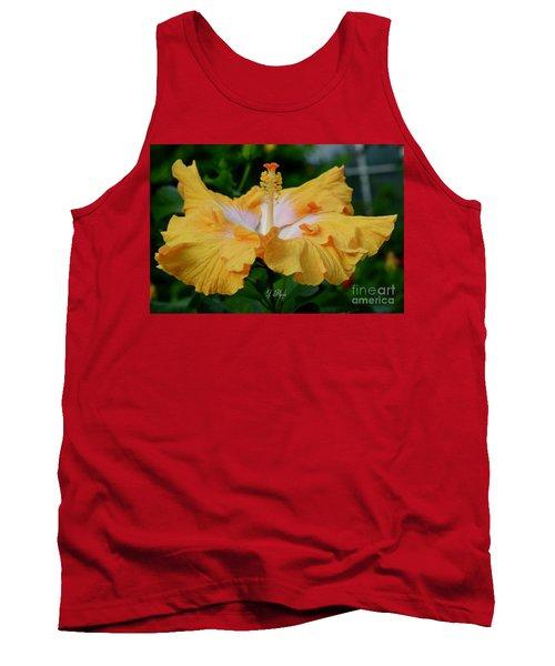 Hibiscus Golden Mist Tank Top
