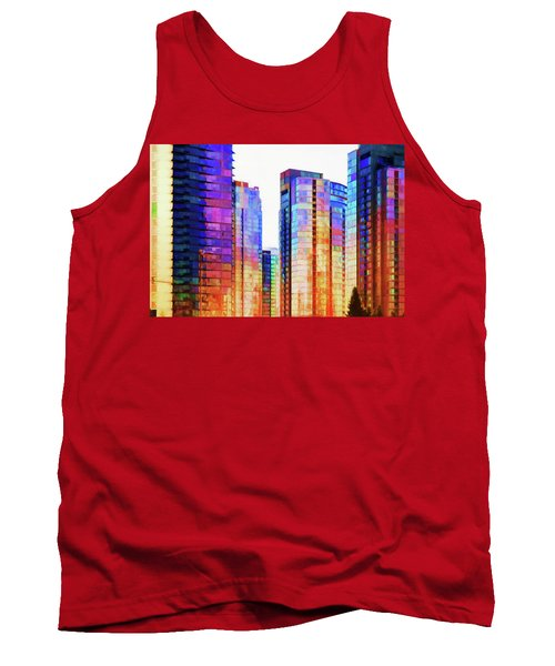 High Rise Abstract Tank Top