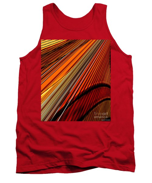 Highway To Sun Tank Top by Thibault Toussaint