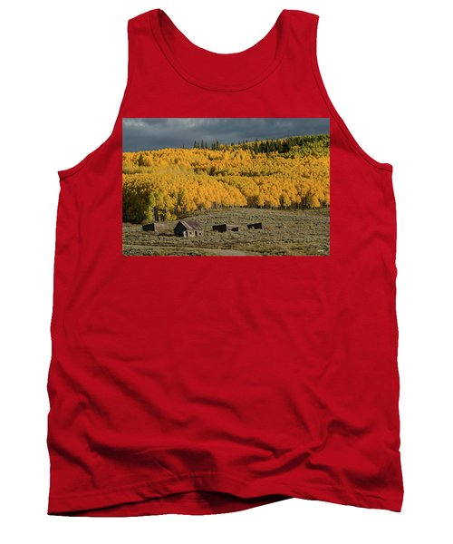 Tank Top featuring the photograph Hills Afire by Dana Sohr