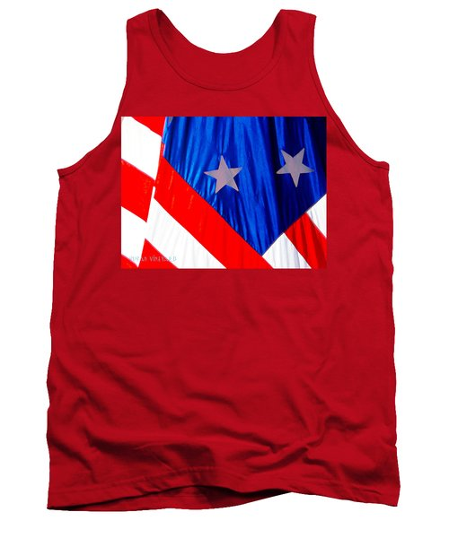 Historical American Flag Tank Top