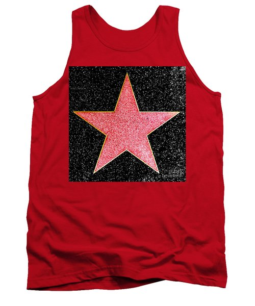 Hollywood Walk Of Fame Star Tank Top