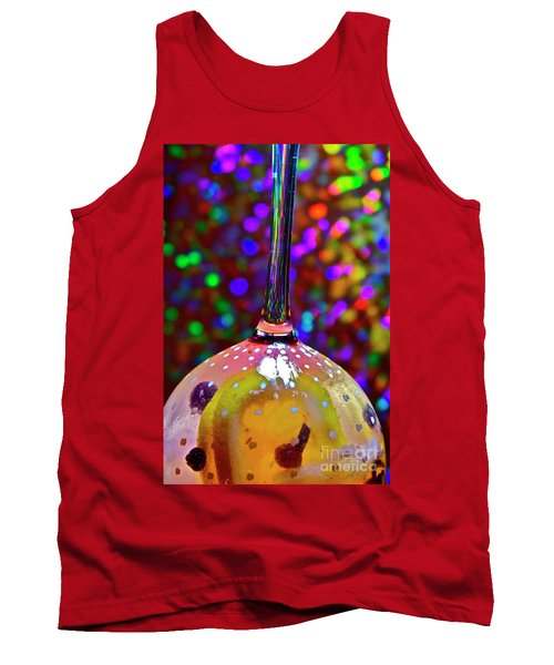 Holographic Fruit Drop Tank Top