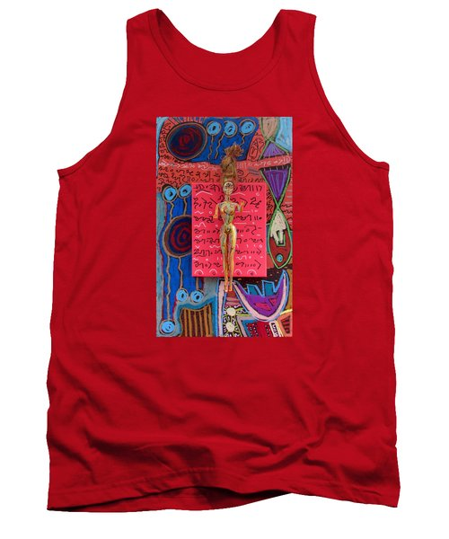 Holy Basil Herbal Tincture Tank Top by Clarity Artists