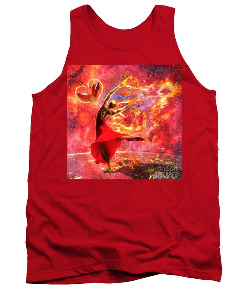 Holy Spirit Fire Tank Top