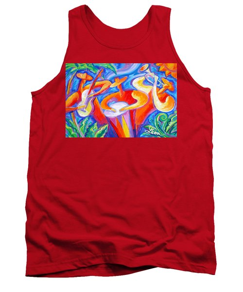 Hot Latin Jazz Tank Top