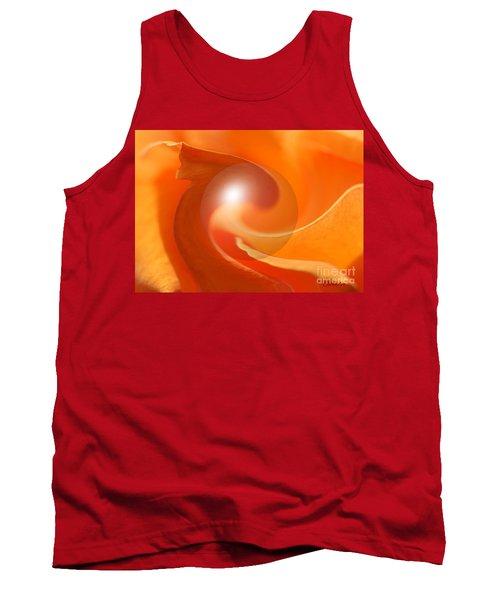 Hot Orange Globe Tank Top