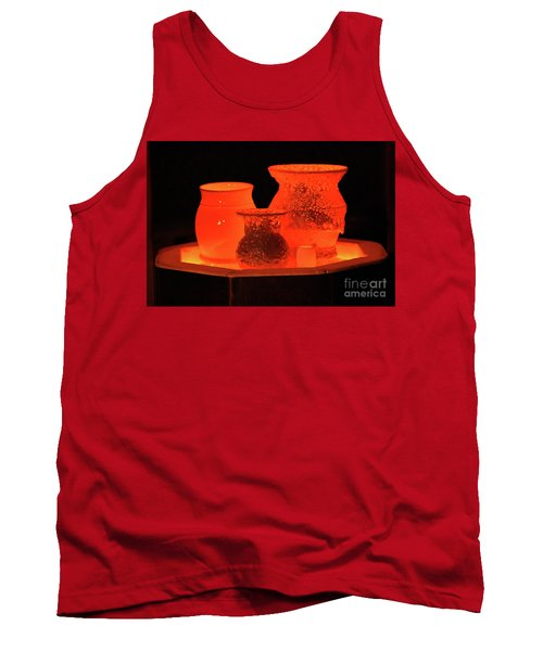 Tank Top featuring the photograph Hot Pots by Skip Willits