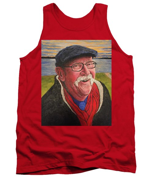 Tank Top featuring the painting Hugh Hanson Davidson by Tom Roderick
