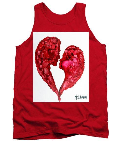 Human Heart Tank Top
