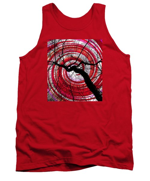 Tank Top featuring the photograph Hypnotic Nature by Shawna Rowe