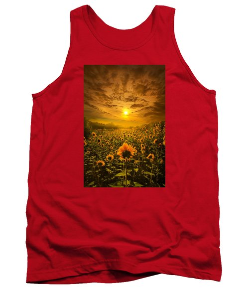 I Believe In New Beginnings Tank Top