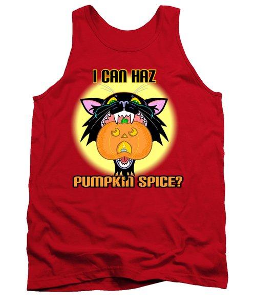 I Can Haz Pumpkin Spice? Tank Top