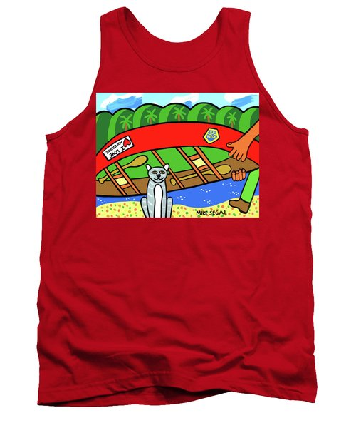 I Love My Canoe Tank Top