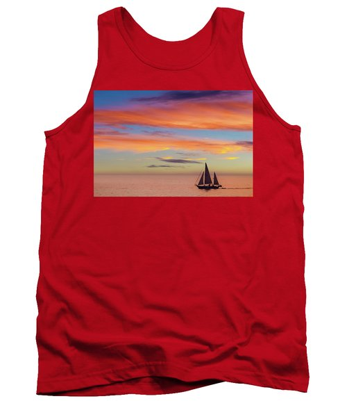 I Will Sail Away, And Take Your Heart With Me Tank Top