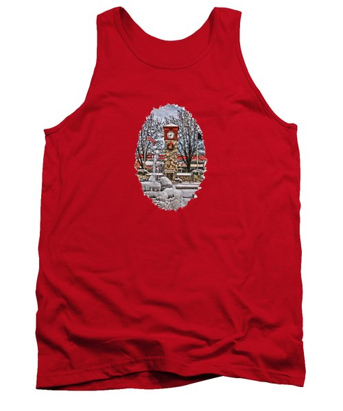 Tank Top featuring the photograph Ice Cold Holiday by DJ Florek