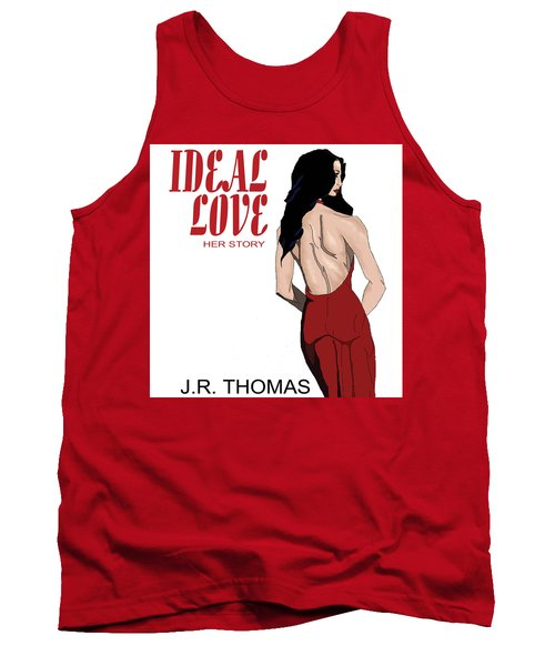 Tank Top featuring the digital art Ideal Love Book Cover by Jayvon Thomas