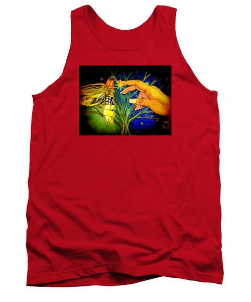 Illumination Tank Top by Alexandria Weaselwise Busen