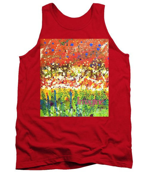 Imagine Happiness Tank Top