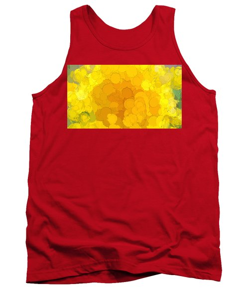 In Color Abstract 14 Tank Top