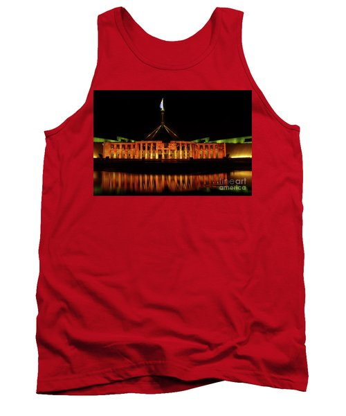 In The Light Of Magna Carta Tank Top by Werner Padarin