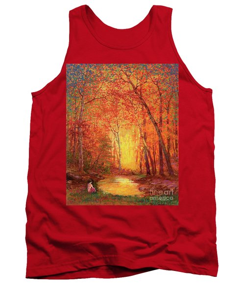 In The Presence Of Light Meditation Tank Top