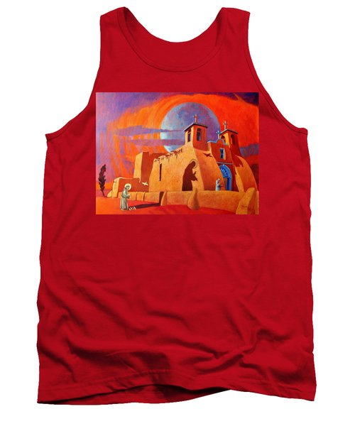 In The Shadow Of St. Francis Tank Top by Art West