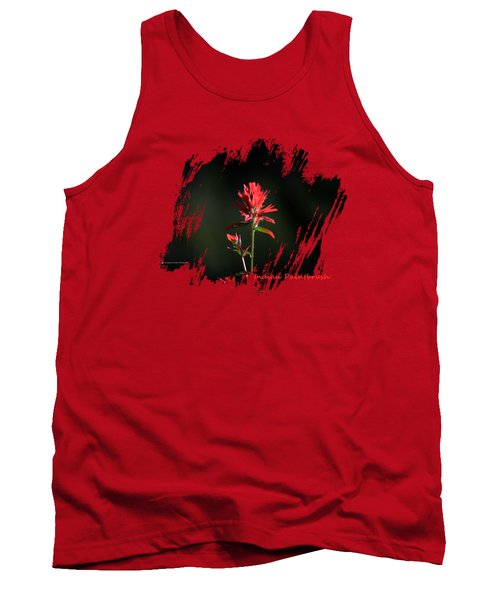 Indian Paintbrush 3 Tank Top