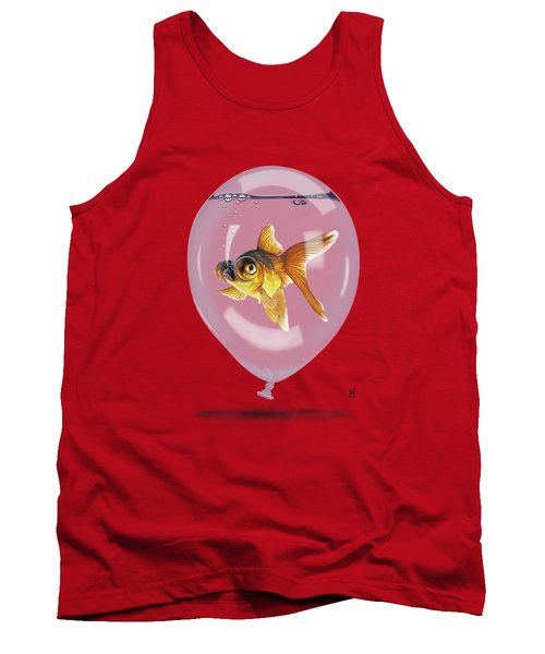 Inflated Wordless Tank Top by Rob Snow