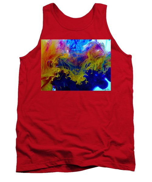 Ink Explosion 9 Tank Top