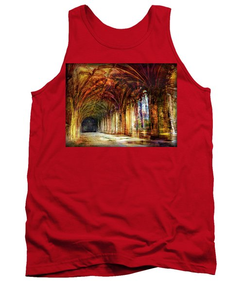 Tank Top featuring the photograph Inside 2 - Transit by Alfredo Gonzalez