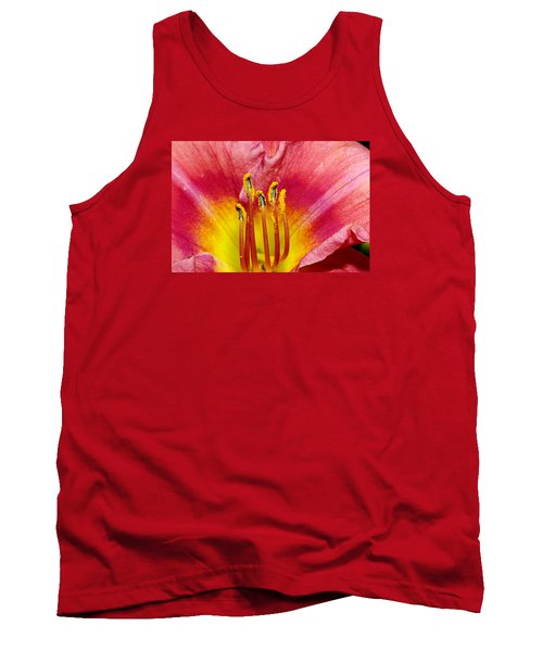 Inside A Daylily Tank Top